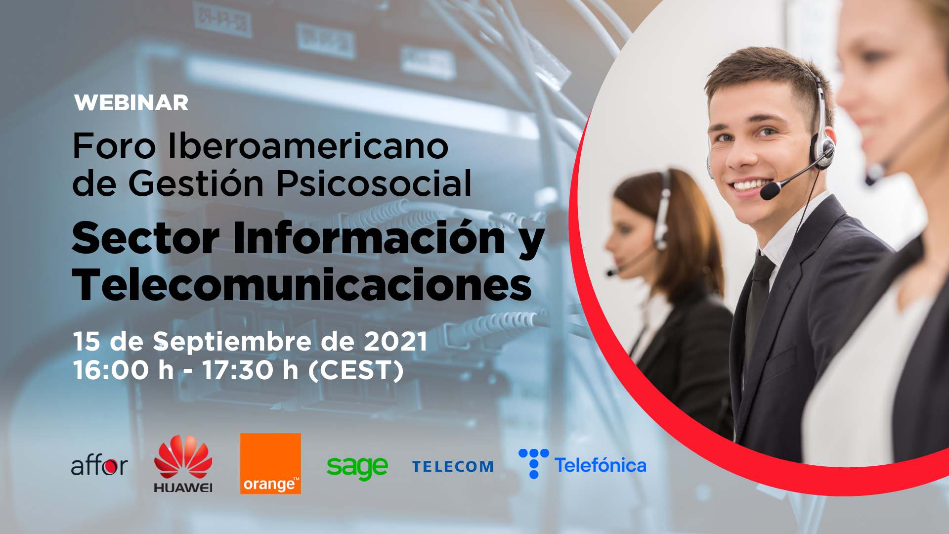 Foro iberoamericano de Gestión Psicosocial Sector Información y Telecomunicaciones